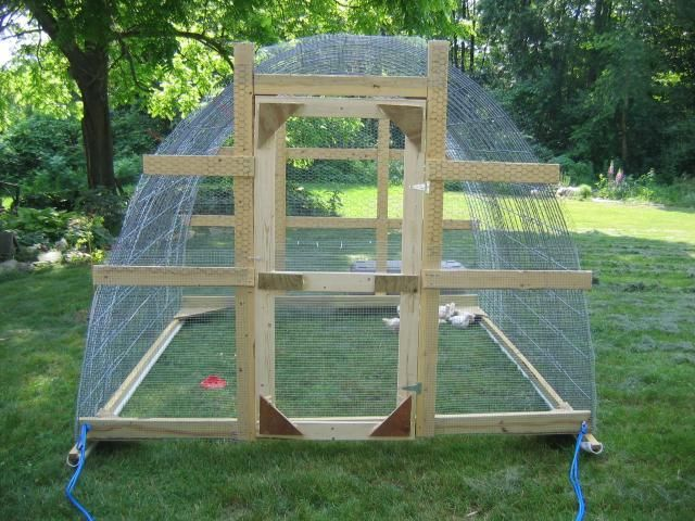Our Hoop House/chicken Tractor