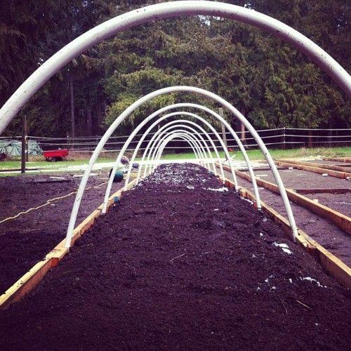 Building Hoop Houses