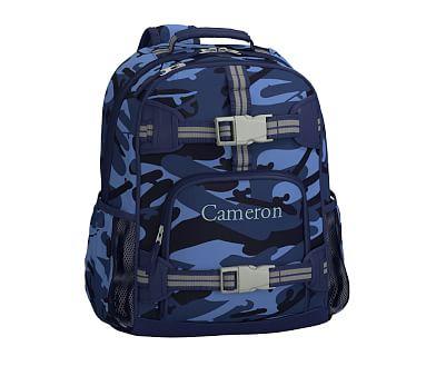 af3aa797bae4 Mackenzie Navy Skateboard Camo Backpacks