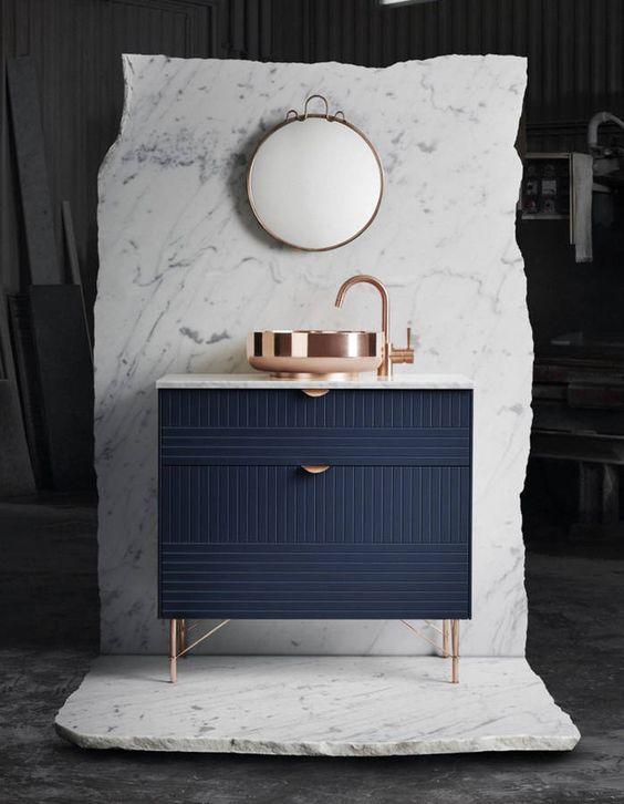 La Couleur Bleu Marine Dans La Deco Clemaroundthecorner Blogdeco