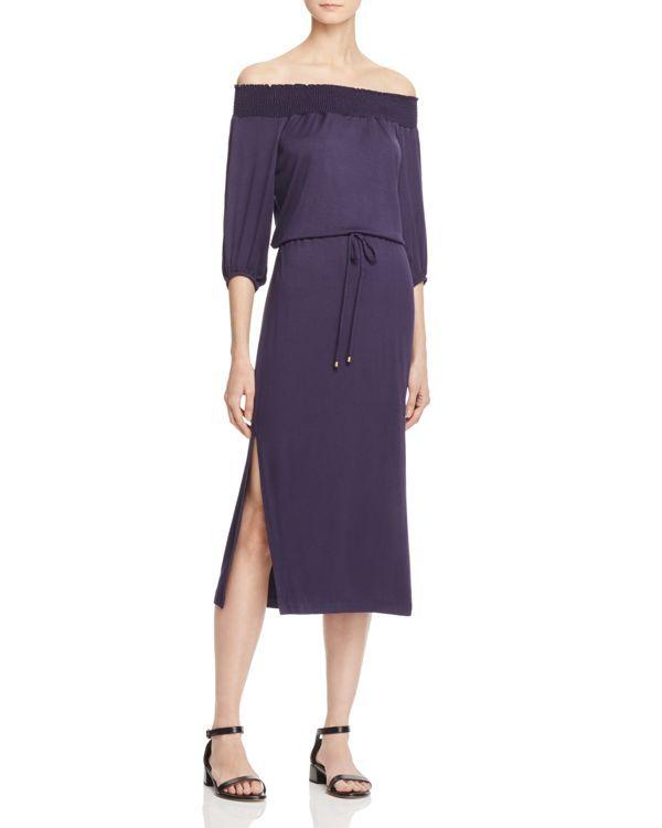 6d29579ffc4 Ella Moss Off-The-Shoulder Midi Dress | Products | Dresses, Fashion ...
