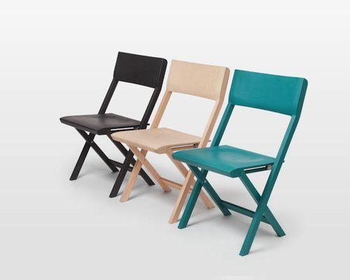 Superior Pli Folding Chair Is A Minimal Design Created By Switzerland Based Designer  Florian Hauswirth.
