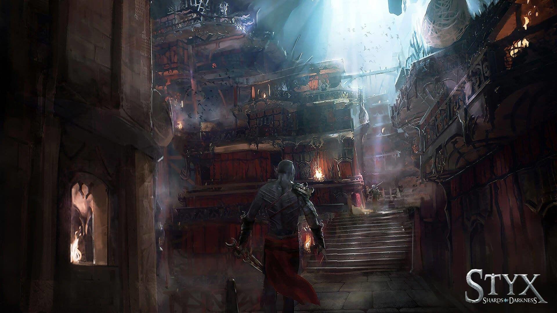Artstation Styx Shard Of Darkness Johann Blais With Images