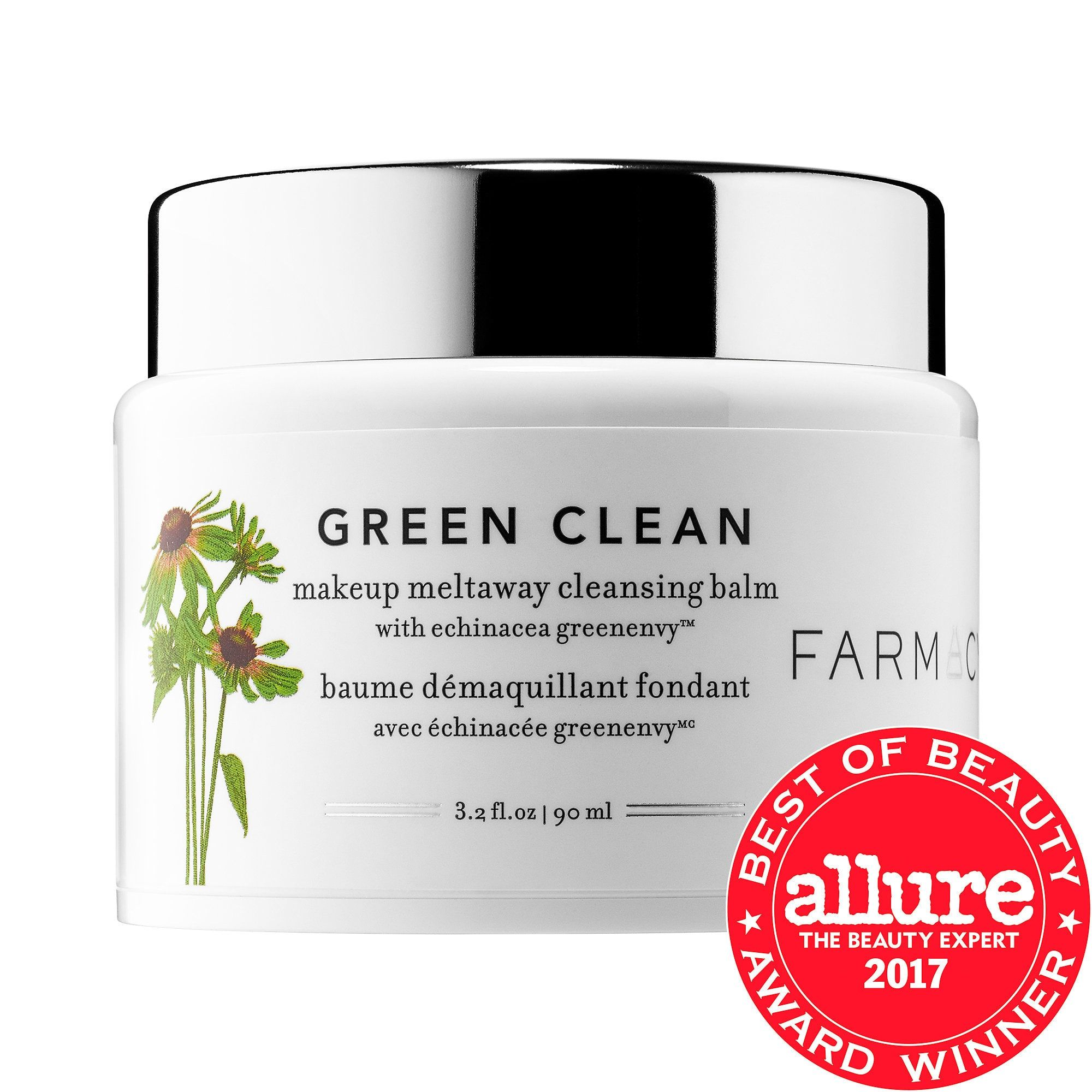 Green Clean Makeup Meltaway Cleansing Balm with Echinacea