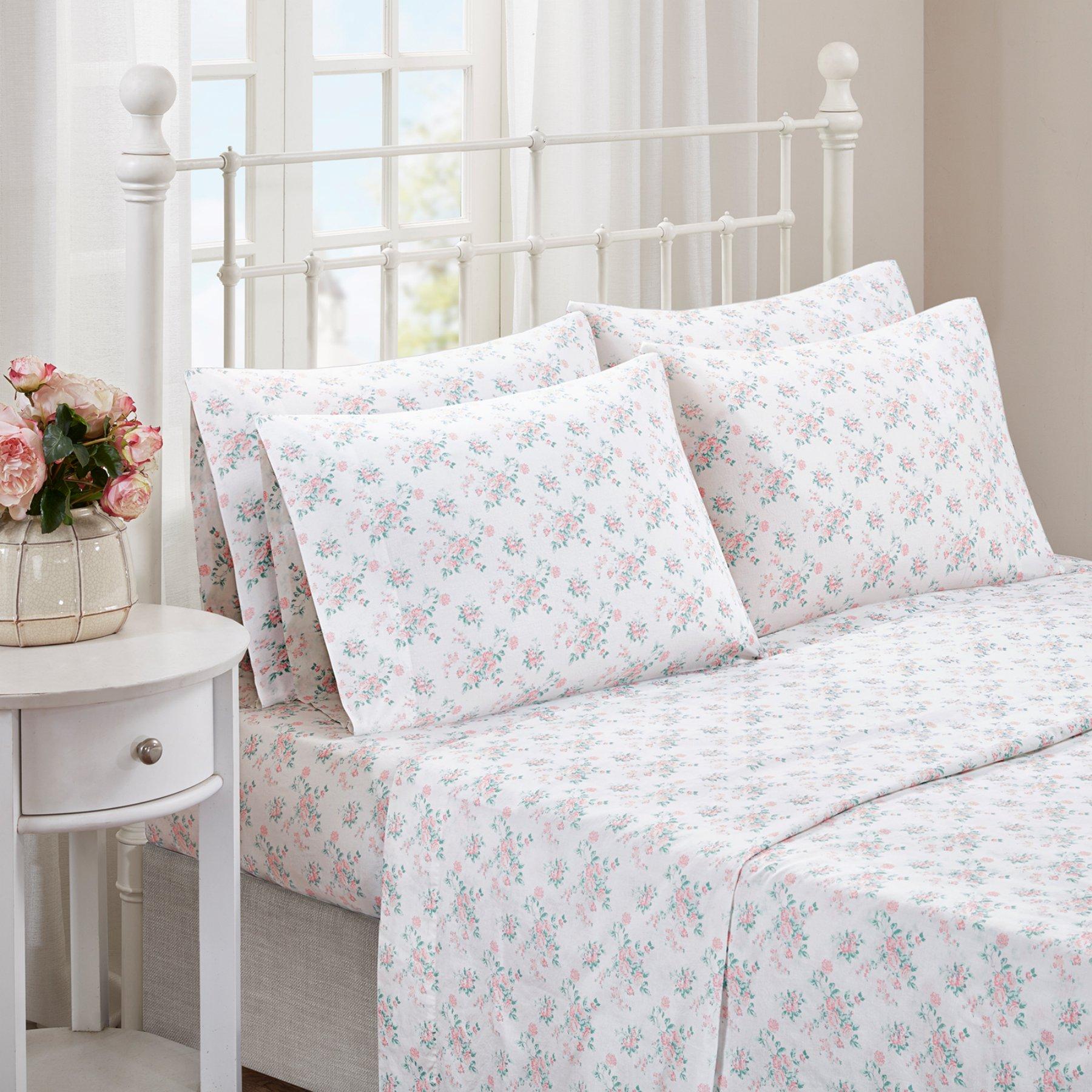 Floral Comfort Wash Sheet Set By Madison Park  Mp20 4090
