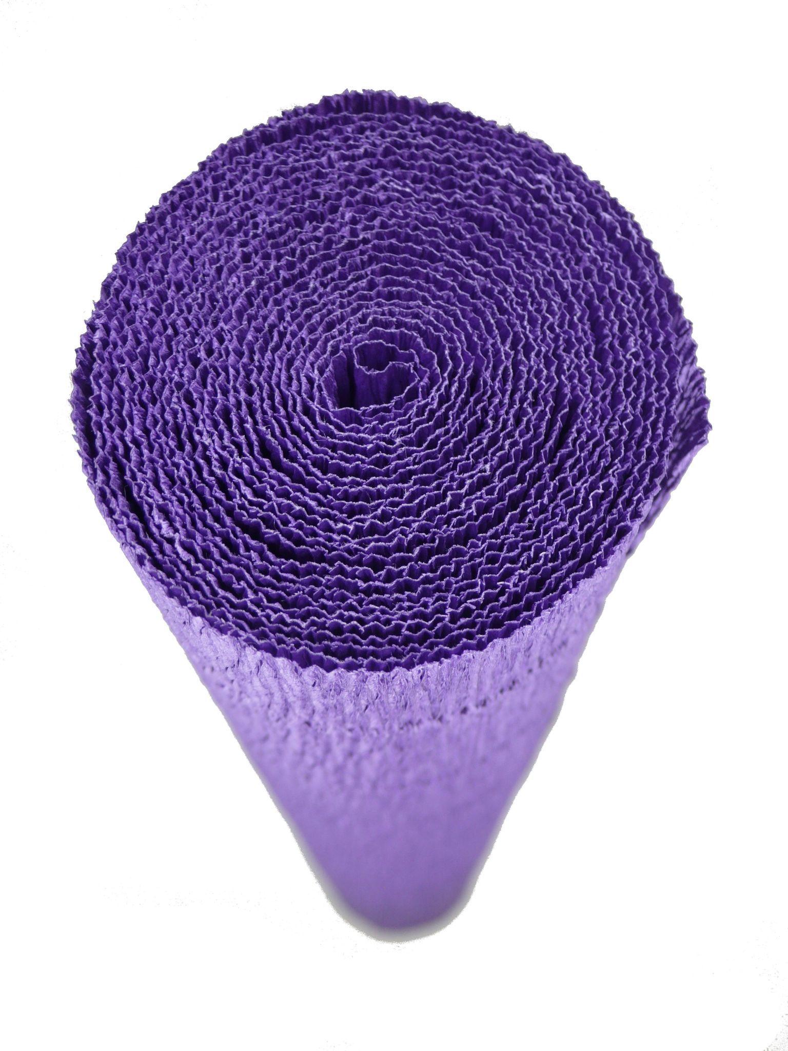 Premium Colored Crepe Paper Violet Top Quality Italian Paper Craft
