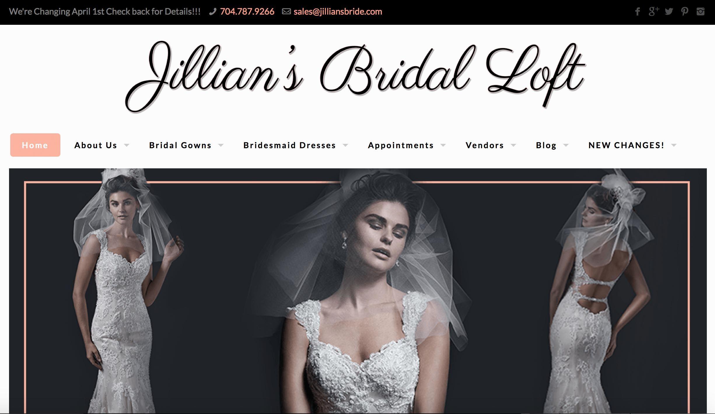 Jillian\'s Bridal Loft | Charlotte, NC Wedding Dresses | Charlotte ...