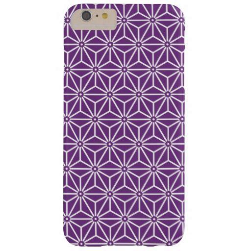 Japanese Yukata Jinbei Pattern ayame Barely There iPhone 6 Plus Case