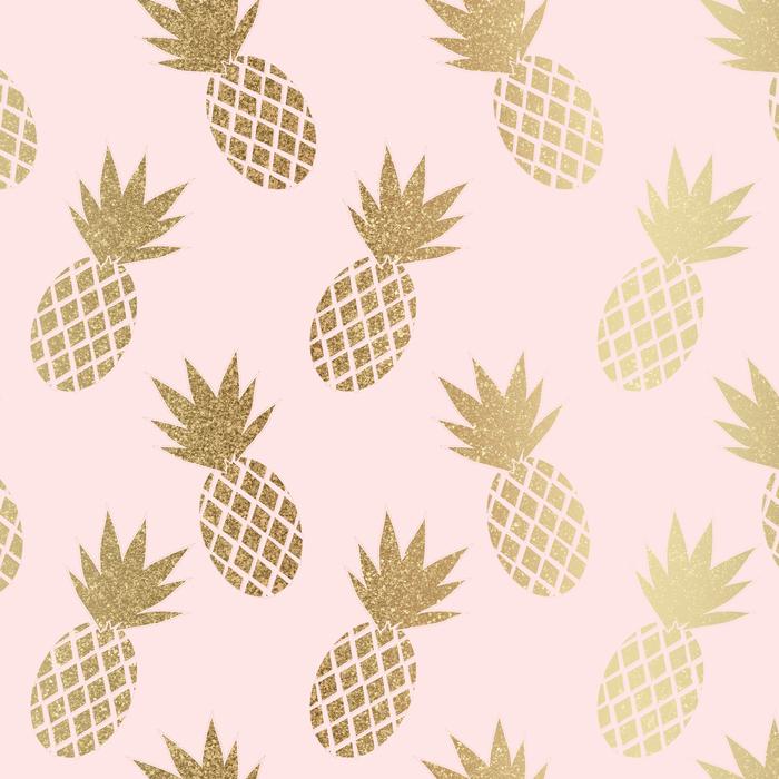 Pink Gold Pineapples Coffee Mug By Tanyadraws 11 Oz Gold Pineapple Wallpaper Gold Wallpaper Iphone Cute Pineapple Wallpaper