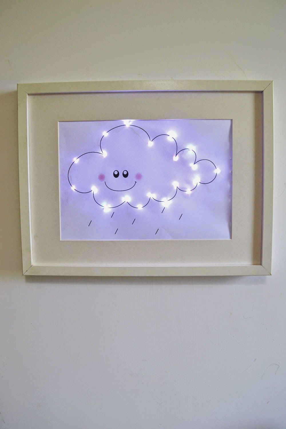 Diy cloud light for the nigth mommo design interieur - Cavalletto ikea bambini ...