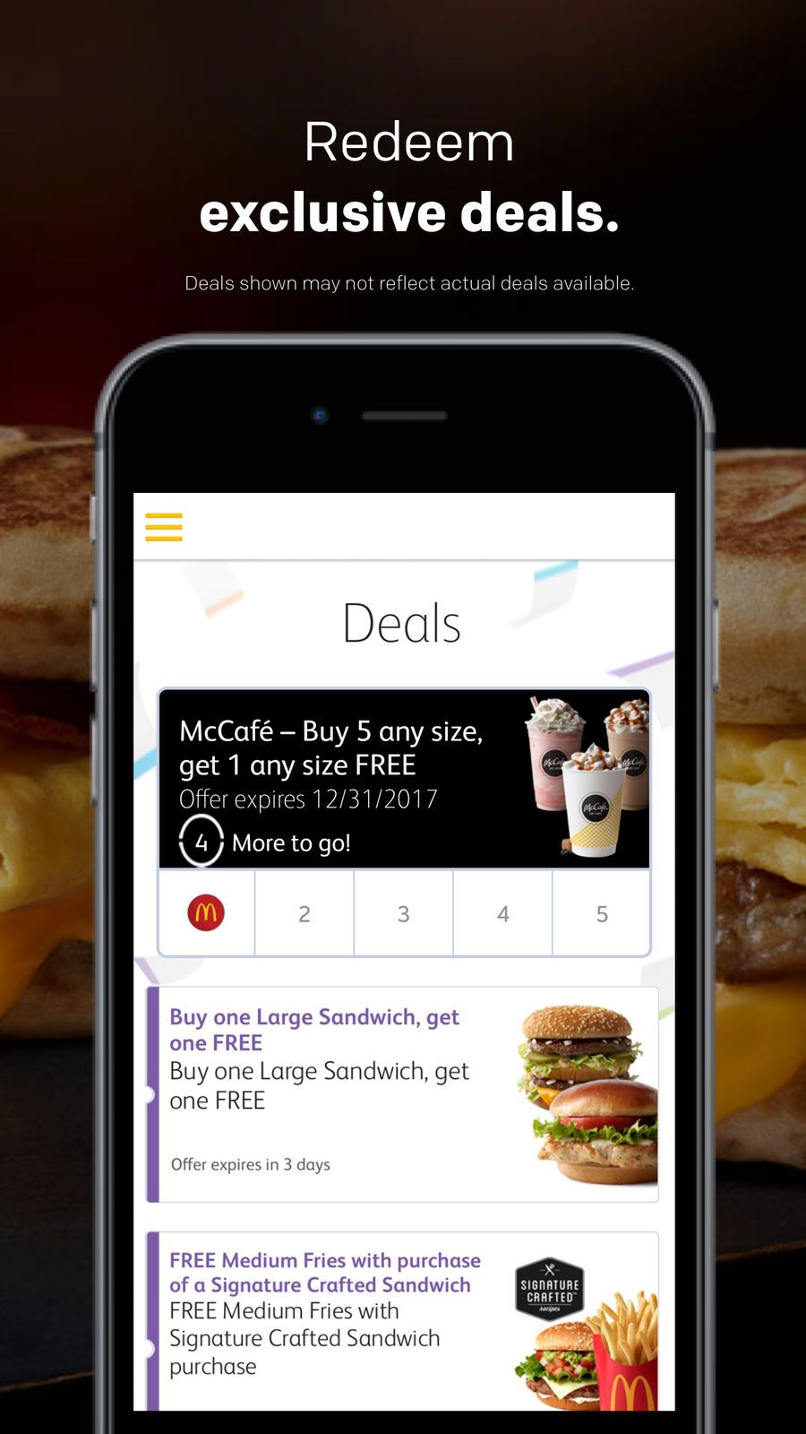 McDonald's UtilitiesDrinkappsios Mcdonalds, App