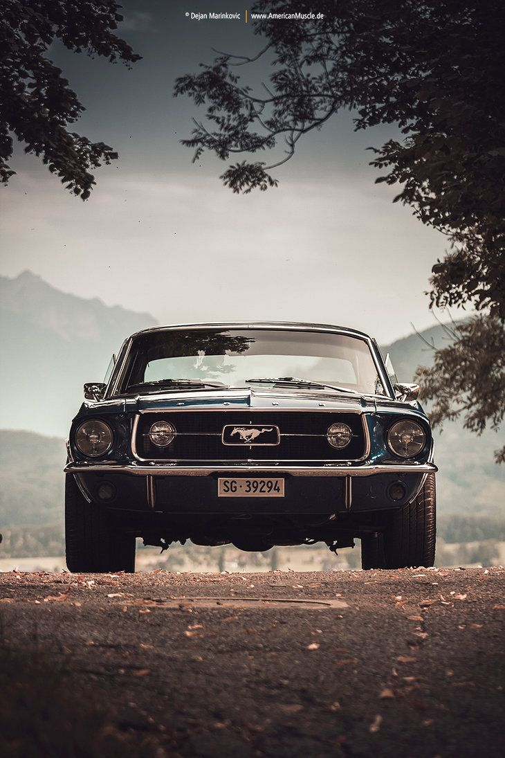 Blue mustang coupe v by americanmuscle deviantart com on deviantart