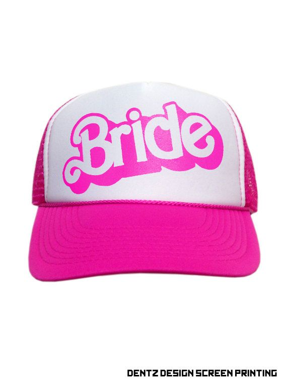 2bca388452c81 Bride - Doll Style - Snapback Trucker Cap - Adjustable Back - One ...