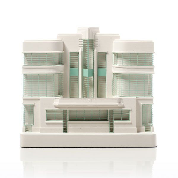 Hoover Building Model. Product Shot Front View