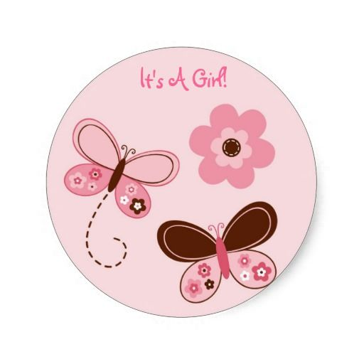 labels butterfly Thank you stickers tags envelope seals,