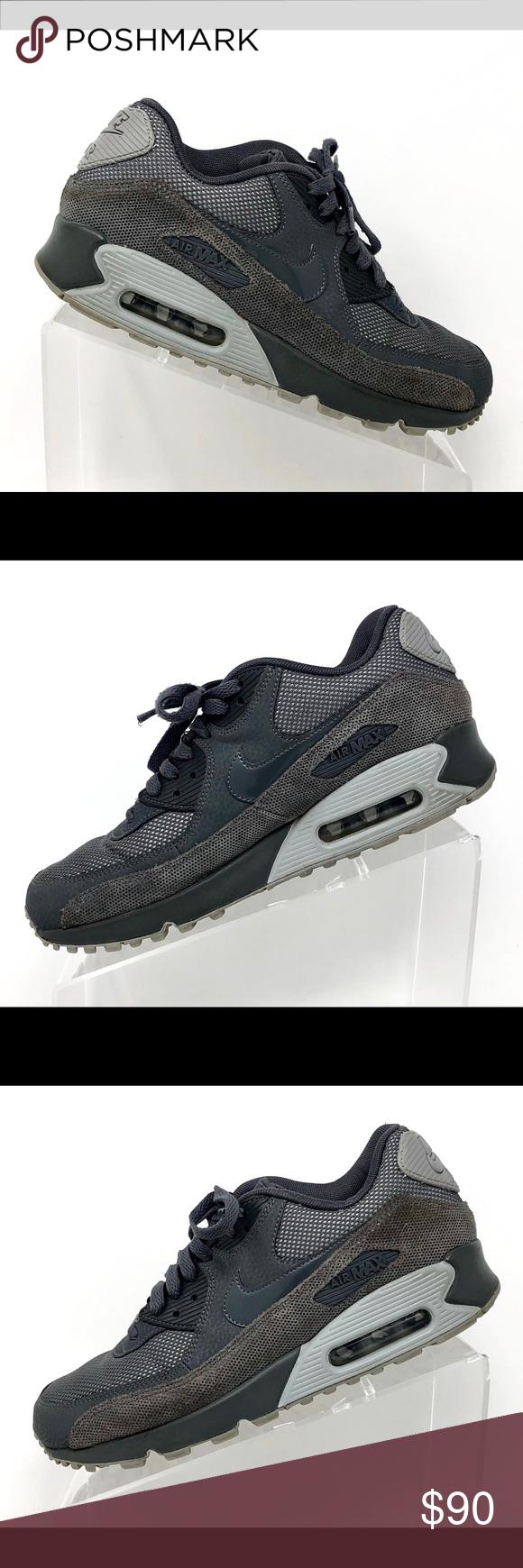 vente chaude en ligne 284f7 b7503 Nike Air Max 90 Premium Running Shoes Brand- Nike. Style ...