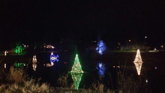 Salem Pond Christmas Utah County Utah Salem