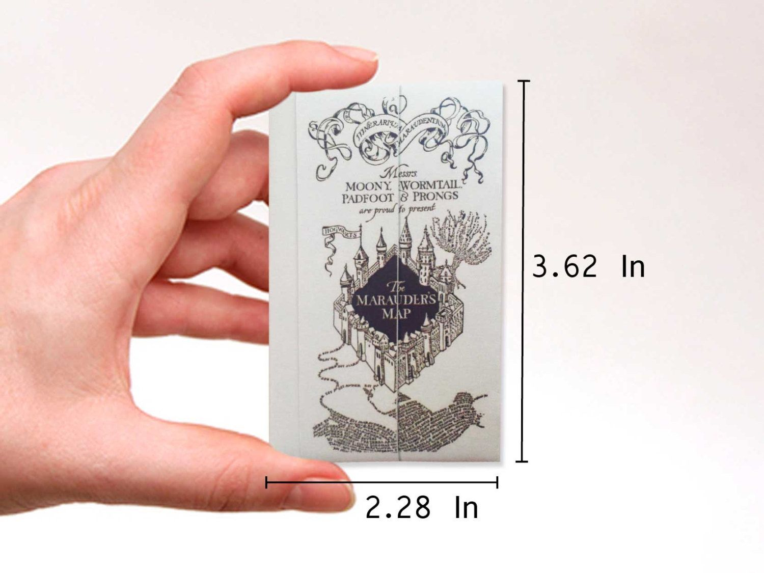 The marauders map print mini wallet. Digital Download de vssihaland en Etsy  #themaraudersmap #wallet #harrypotter #maraudersmap #wizard #mapadelmerodeador #friki #cardholder #origami #mischiefmanaged #holster