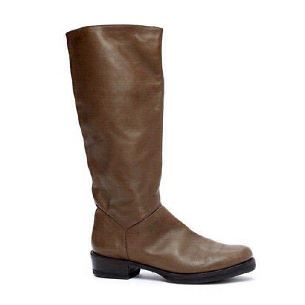 Brown Leather Boots | NiftyThrifty - Rare Finds Everyday