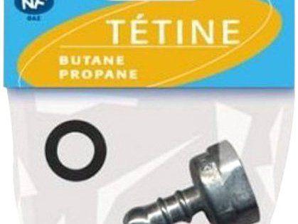 Wpro TPB001 Tétine Gaz Butane pour Appareil de Cuisson Type de - lampe exterieure allumage automatique