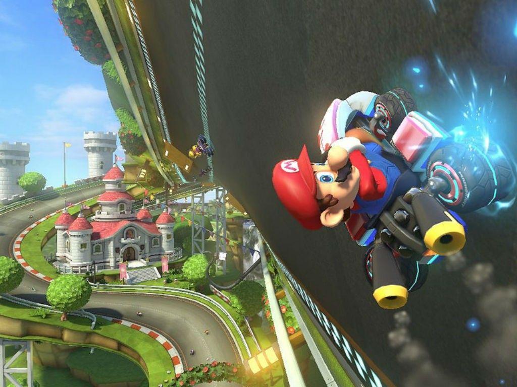 Señoras y señores: Mario Kart 8.