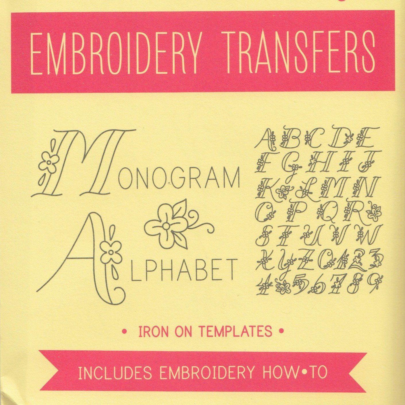 Sublime stitching embroidery patterns monogram alphabet monogram