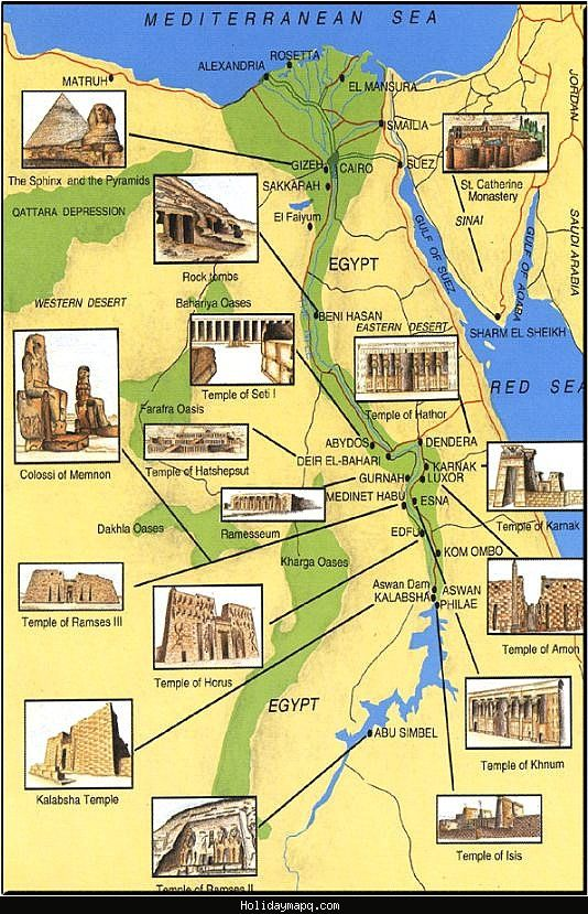 Egypt Map Tourist Attractions on However when the attempt resulted