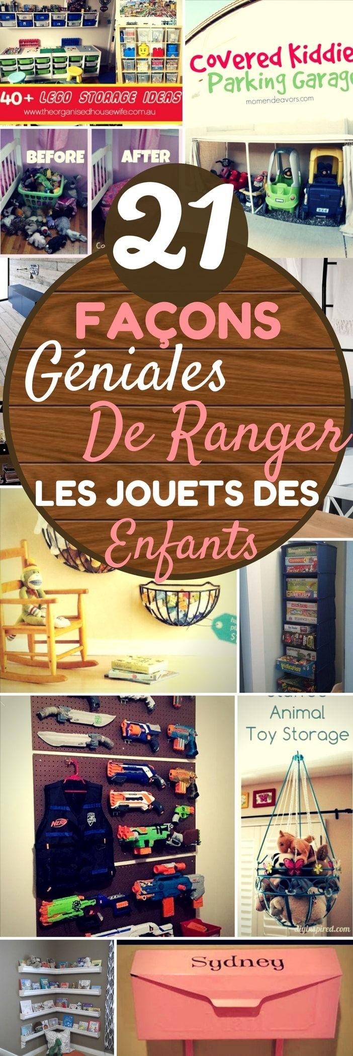 21 Facons Geniales De Ranger Les Jouets Des Enfants Rangement Jouet Enfant Rangement Jeux Rangement