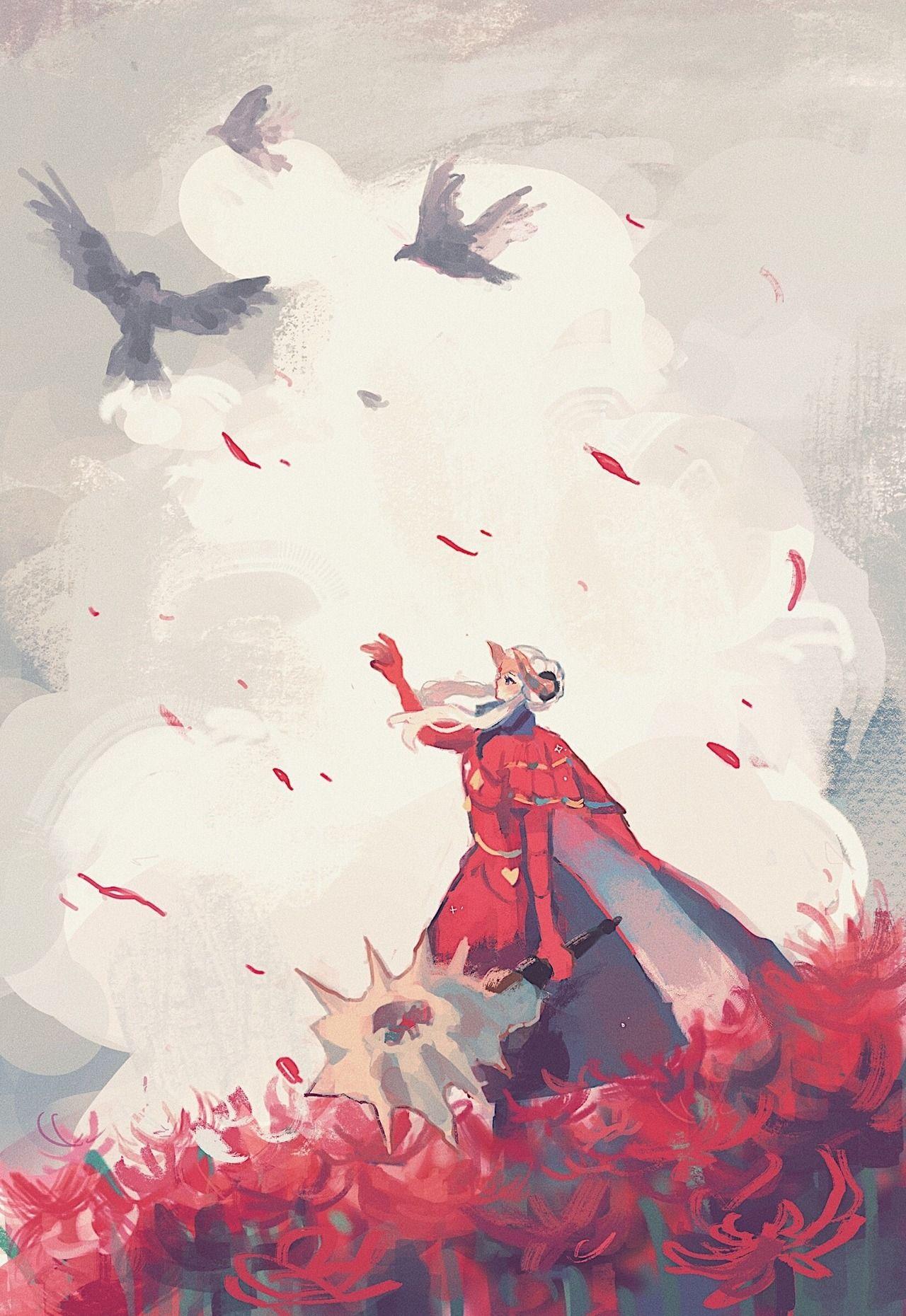Crimson Flower Fire Emblem Wallpaper Fire Emblem Hector Fire Emblem