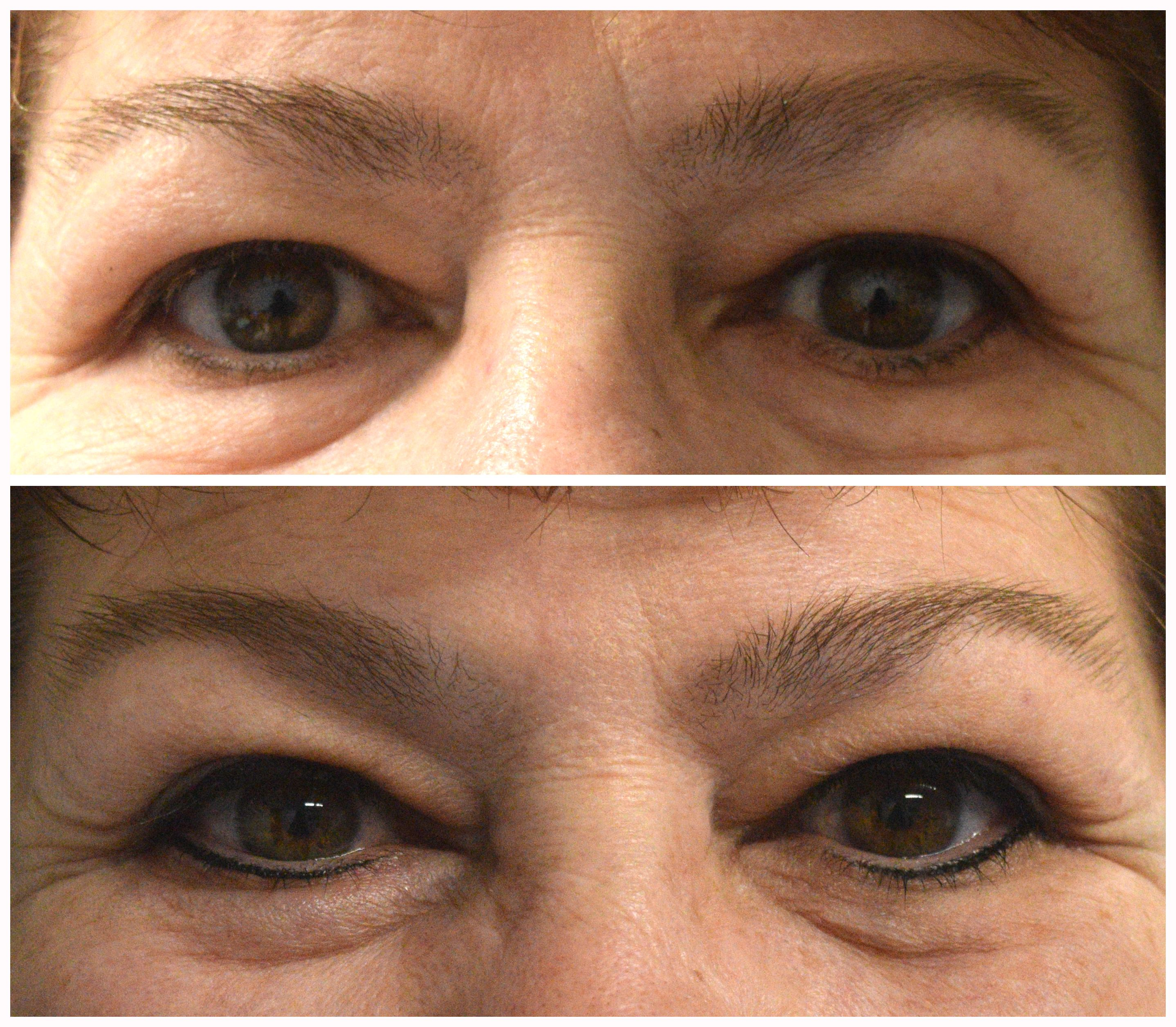 Upper & Lower SemiPermanent Eyeliner Cosmetic solution