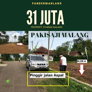 Jual Tanah Kavling Murah Kota Malang Area Investasi Pedesaan Kota