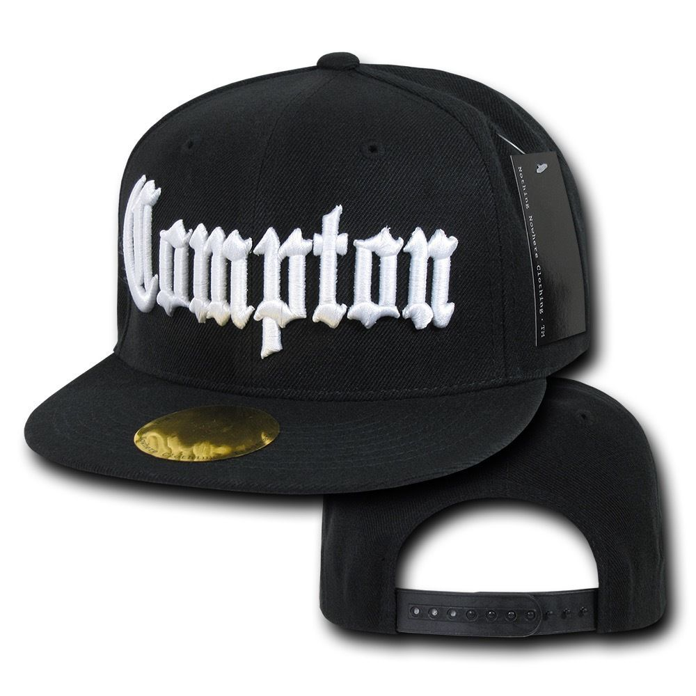 5df3b99a Details about Old English City Logo Campton Inglewood LA Snapback ...