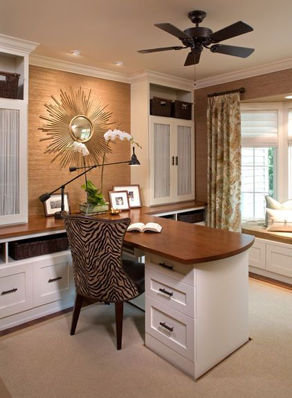 Modern Home Office By Inview Interior Design Home Office Design Home Office Furniture Cozy Home Office