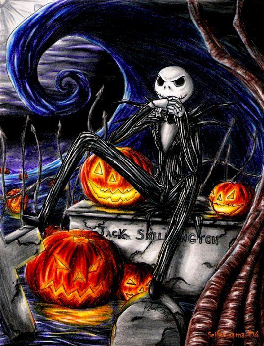 Jack Skellington By Seifer Sama Deviantart Com On Deviantart Nightmare Before Christmas Jack The Pumpkin King Tim Burton Art