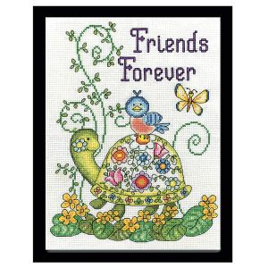 Friends Forever - #CrossStitch, #Needlepoint Kits