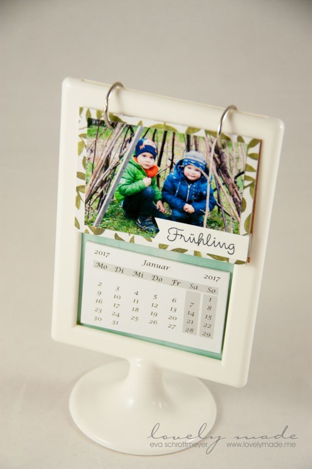 Jahreskalender Mit Project Life With Images Ikea Picture Frame Diy Calendar Stand Mini Calendars