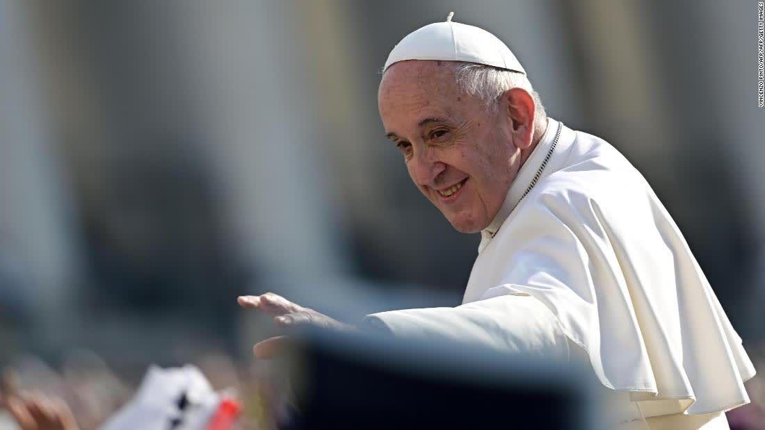 Energy And Environment Cnn Pope Francis Catholic Catholic Men