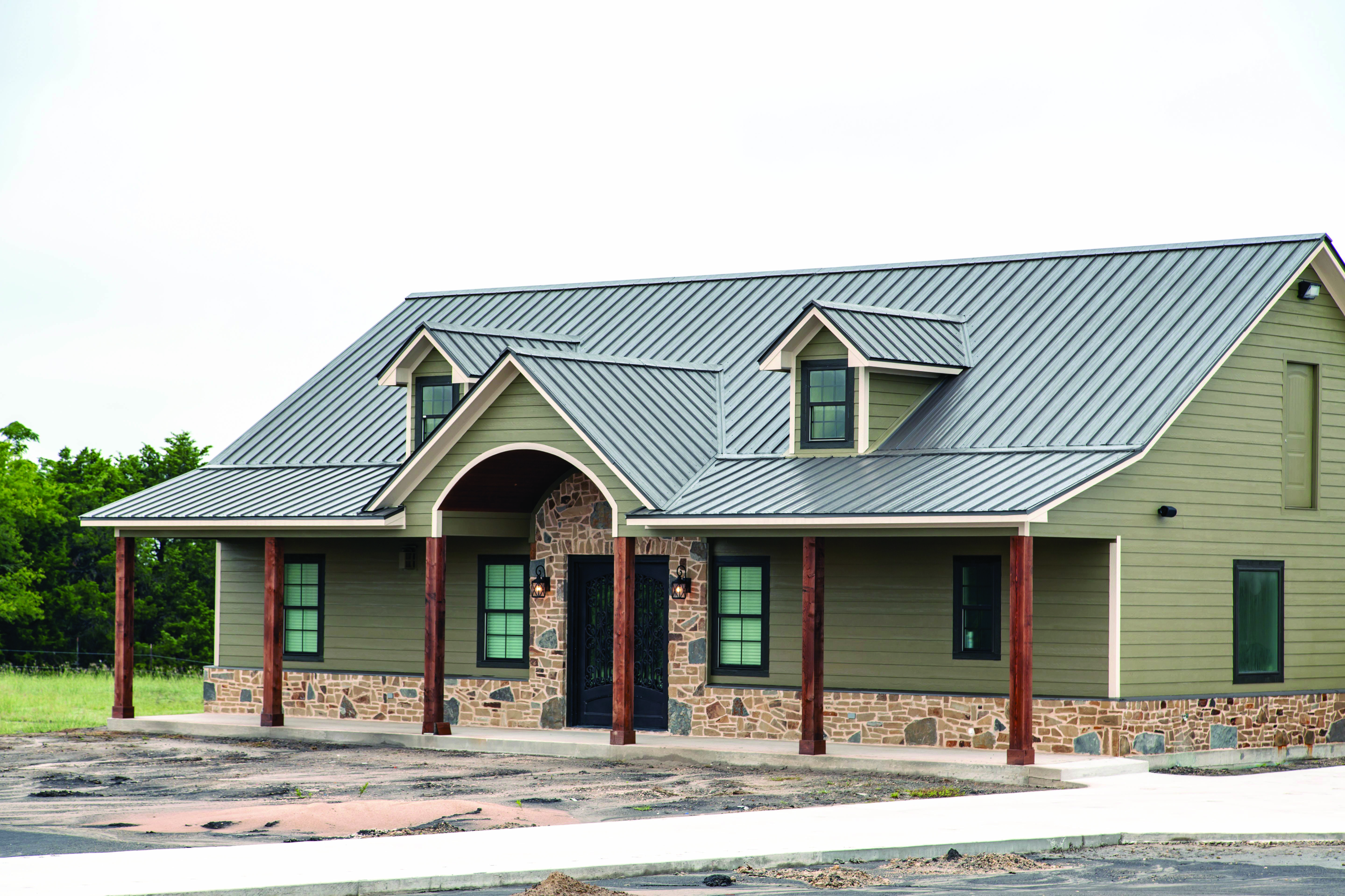 Metal Roofing Homes Tre Metal Roofs Farmhouse Metal Roof Houses Metal Building Homes