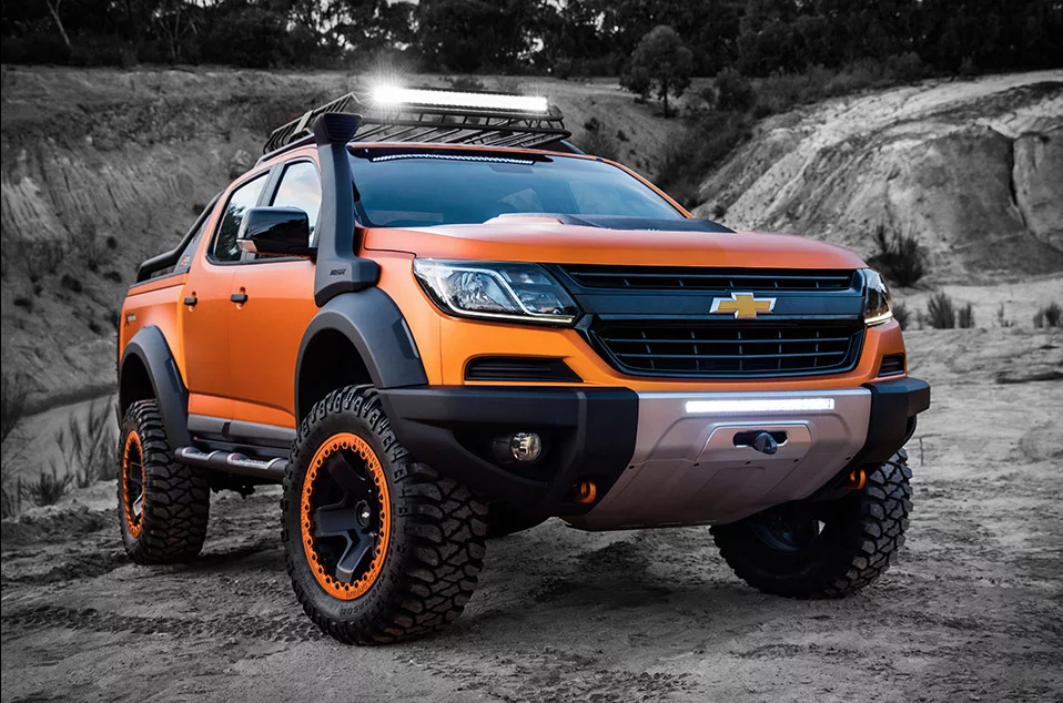Chevrolet Colorado Xtreme Truck Created For The Thai Market The