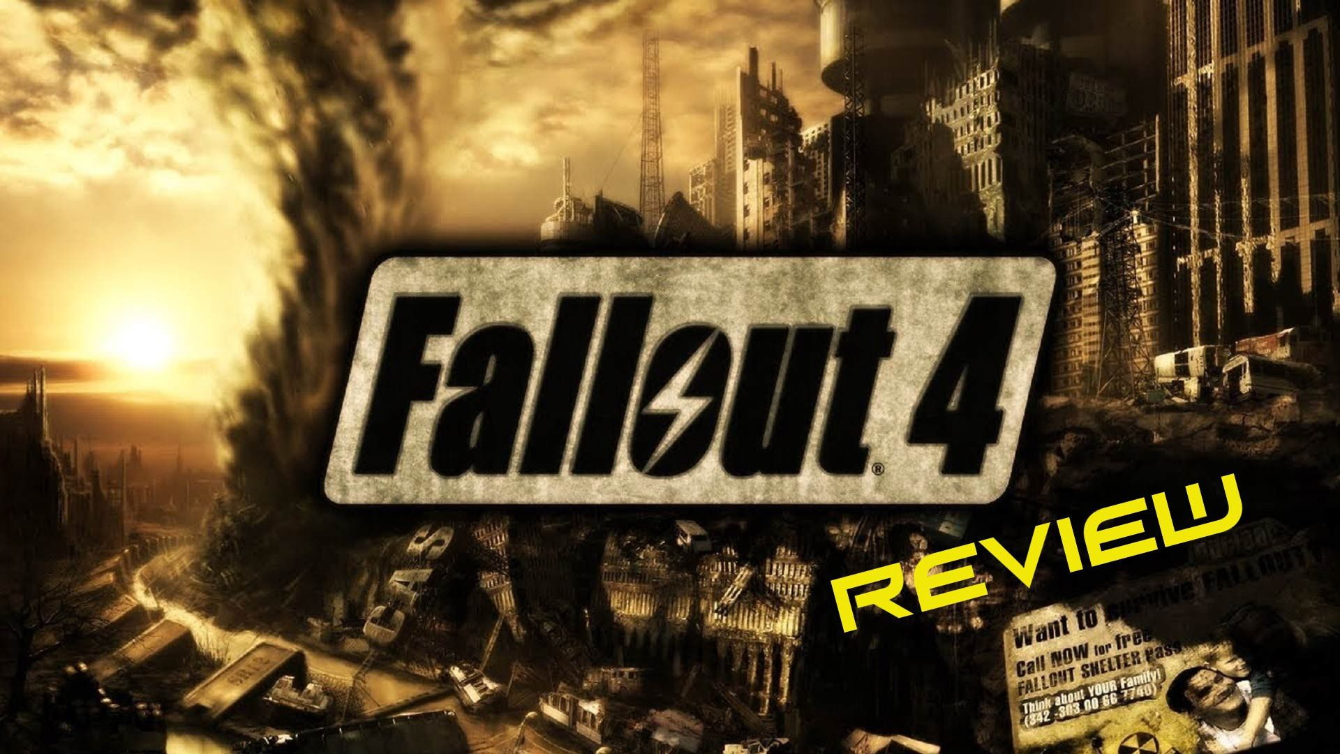 """Fallout 4 Review """"Buy, Wait for Sale, Rent, Never Touch?"""""""