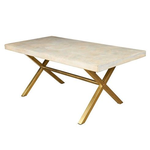 We Love This Dining Table Featuring A Mango Wood That Is Bleached