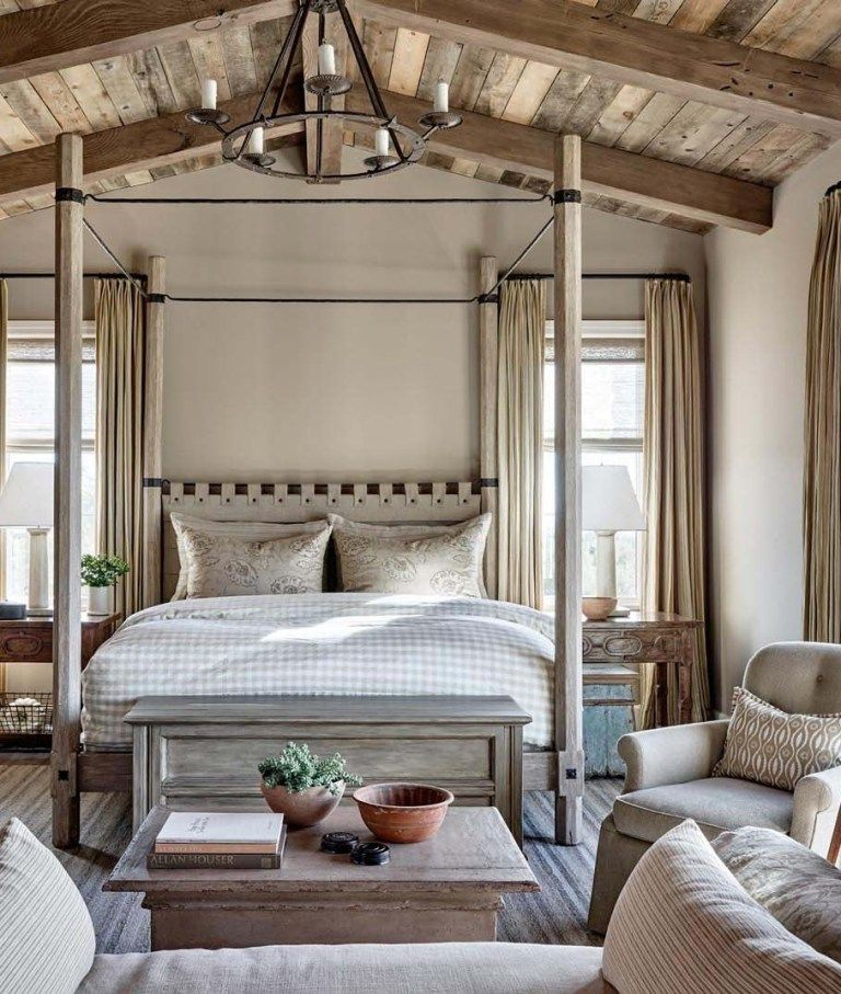 Bedroom Ideas from the Top Designers | Modern rustic ...