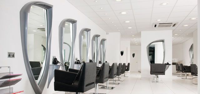 Small Hair Salon Interior Design Ideas | Punk rock salon ...