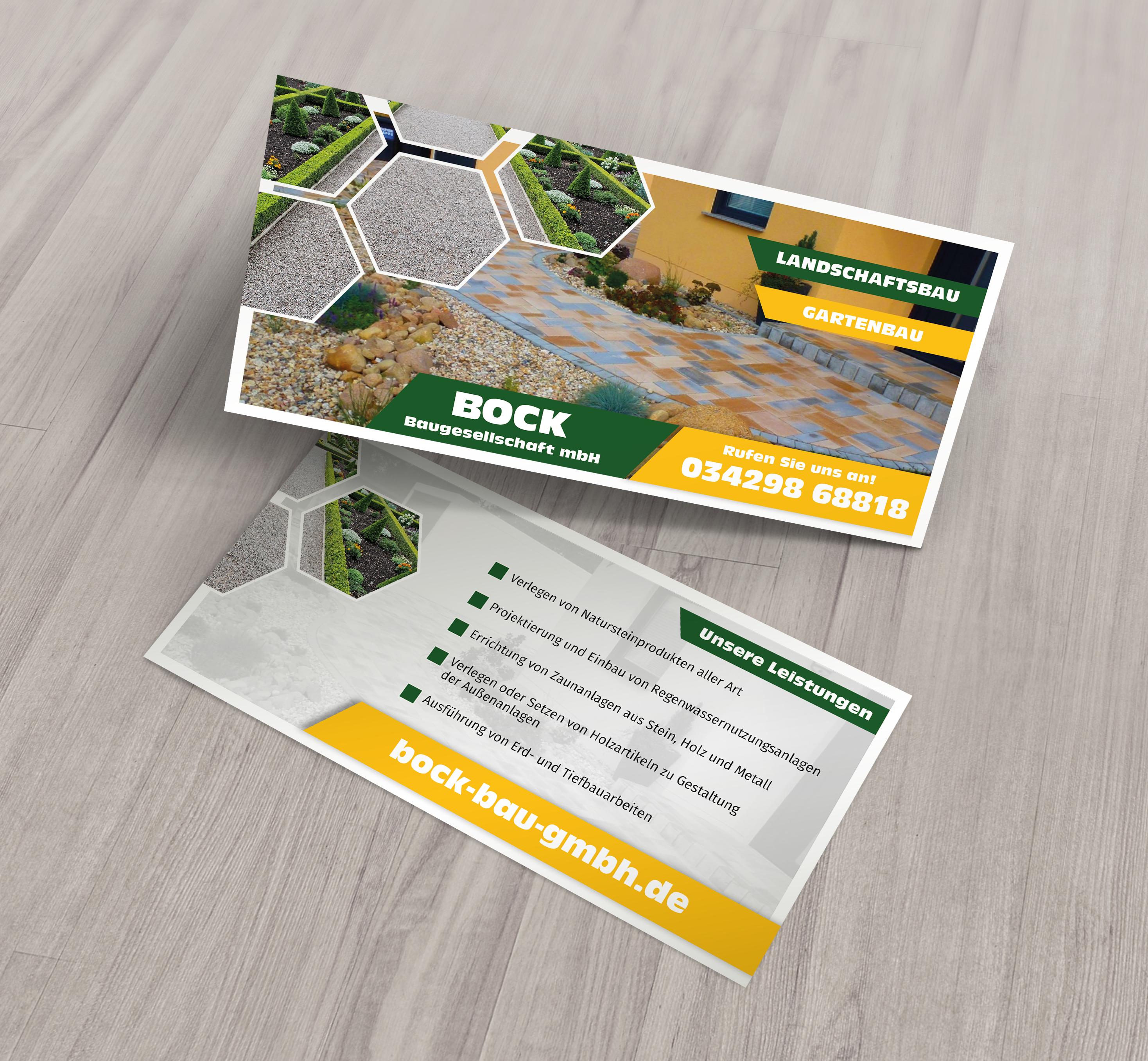 Flyer Postkartendesign Im Din Lang Format Flyer Grafik Design