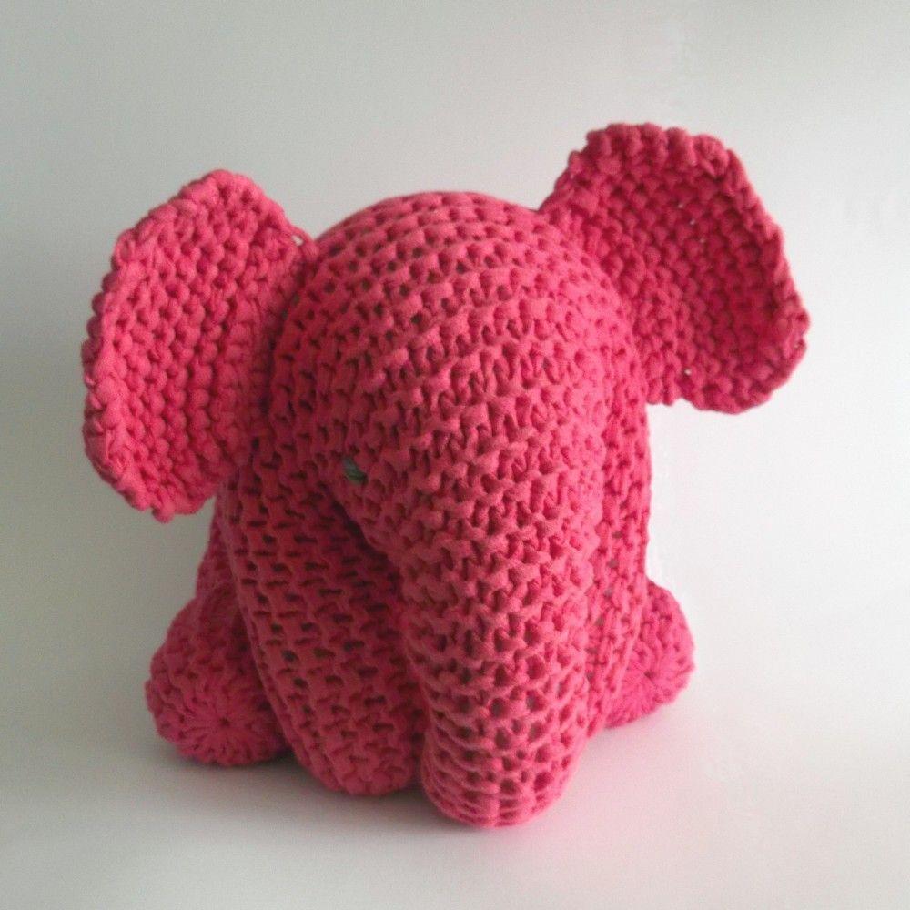 Pin by Hazel Williams on Free pattern | Pinterest | Pink elephant ...