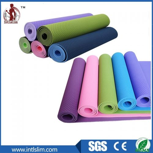 1 Product Name Tpe Yoga Mats 2 Material Tpe 3 Color Green Red Blue Purple Black Or Customized 4 Size L173 183 W61cm Yoga Mat Mats Environment Friendly