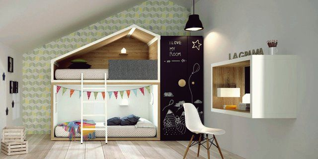 15 Entertaining Modern Kids' Room Designs That Will Accommodate Your Children in 2020 ...