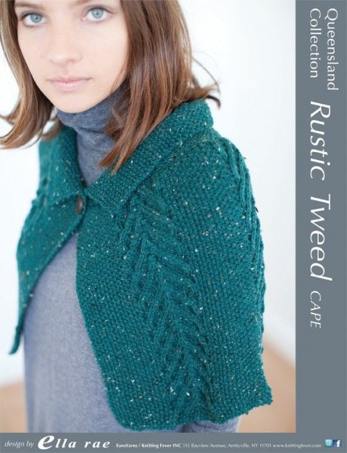 Rustic Tweed Cape - Q2034 from by Queensland Collection at ...