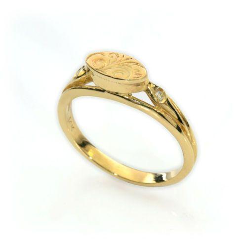 Gold-Daimond-Ring-14k-Ladies-White-1-Princess-Band-4ct-Engagement-Wedding-2-25ct
