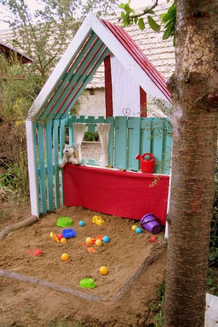 Comment construire une cabane avec des palettes fabrication poulailler en palette chambre - Construire des meubles avec des palettes ...